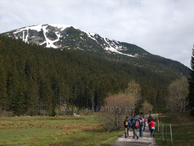 Studniční hora, foceno v květnu 2009