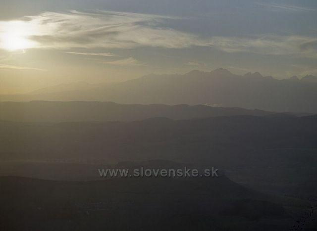 Tatry a Spišský hrad