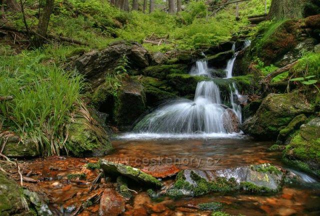 pod Vysokým vodopádem