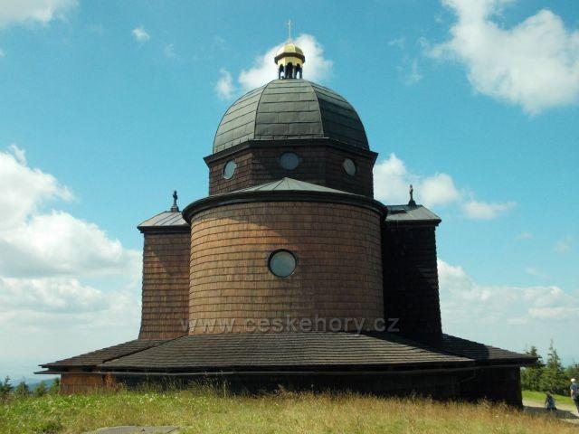 kostel sv.Cyrila a Metoděje na Radhošti