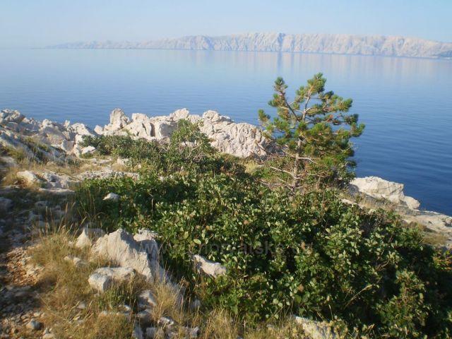 Ostrov Krk z Povile.