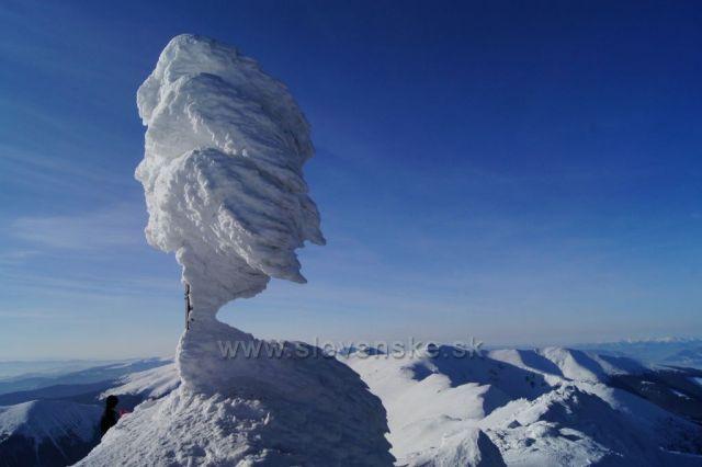 Ďumbier v zime
