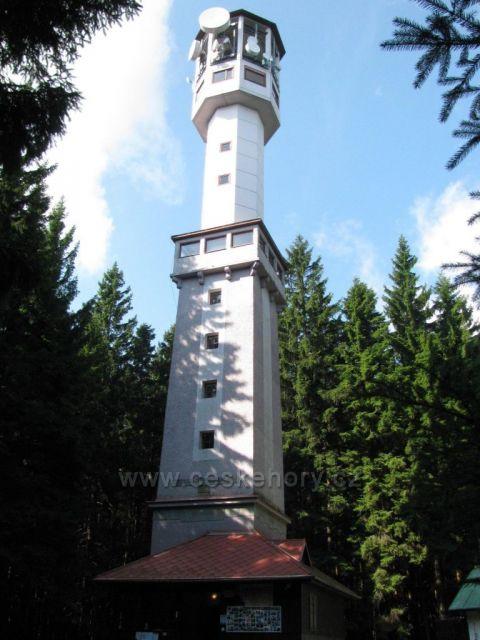 Klostermannova rozhledna Javorník Autor:Marcela Zajíčková       České hory