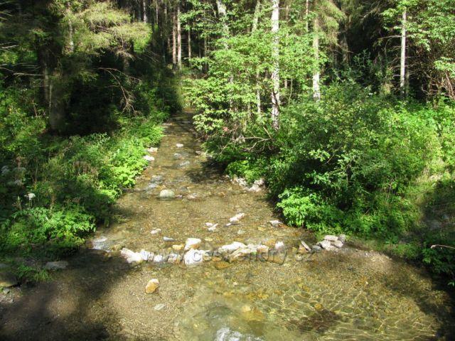 Zlatý potok, Amálino údolí, Kašperské Hory Autor: Marcela Zajíčková        České hory