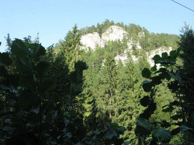 Dëmanovská dolina - vsup do ľadové jeskyně