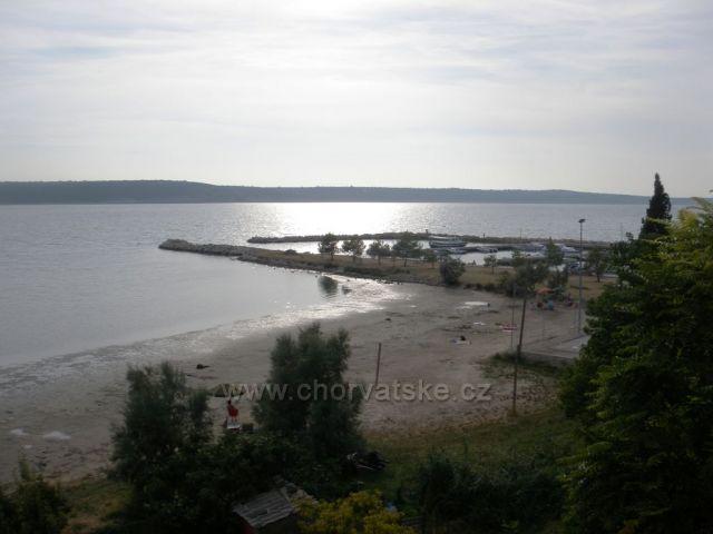 Ljubač - písečná pláž