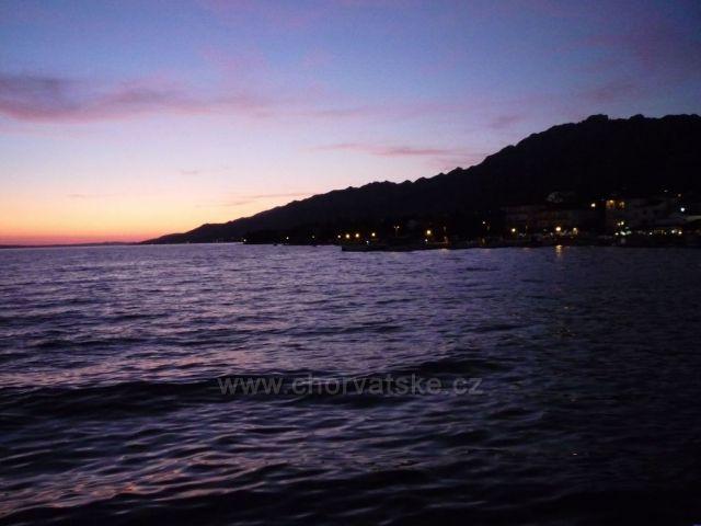 Starigrad - Paklenica Západ slunce