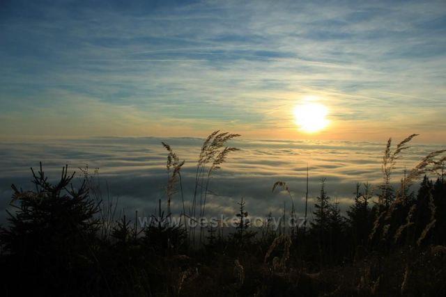 Západ slunce nad Inverzí - Černá hora