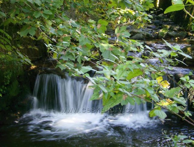 Katarakt na Stříbrném potoku, Černý Důl
