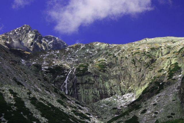 Malá Studená dolina pod Prostredným hrotem