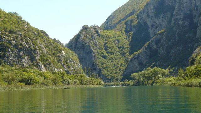 řeka Cetina Omiš-Radmanove mlinice