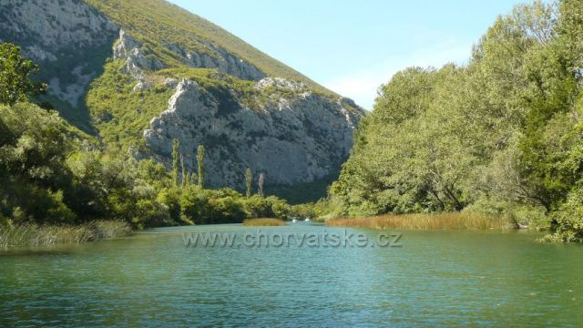 řeka Cetina-Radmanove mlinice