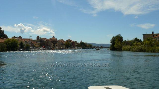 řeka Cetina Omiš