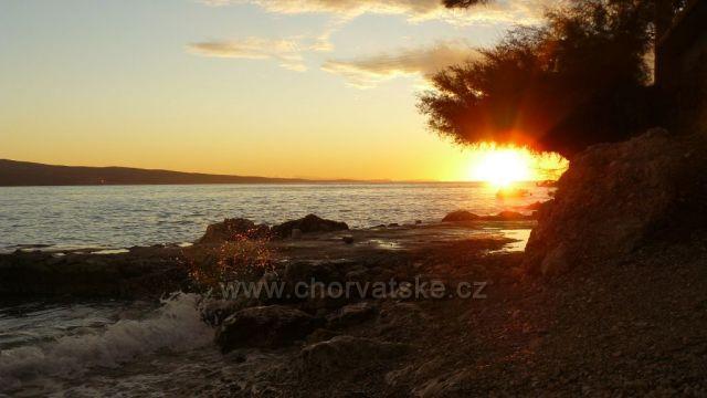 Podvečerní pláž Čelina Zavode