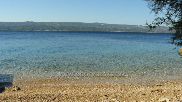 pláž Čelina Zavode