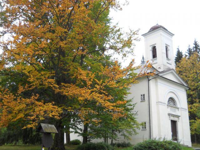 Kostolík v Karlovej Studánke