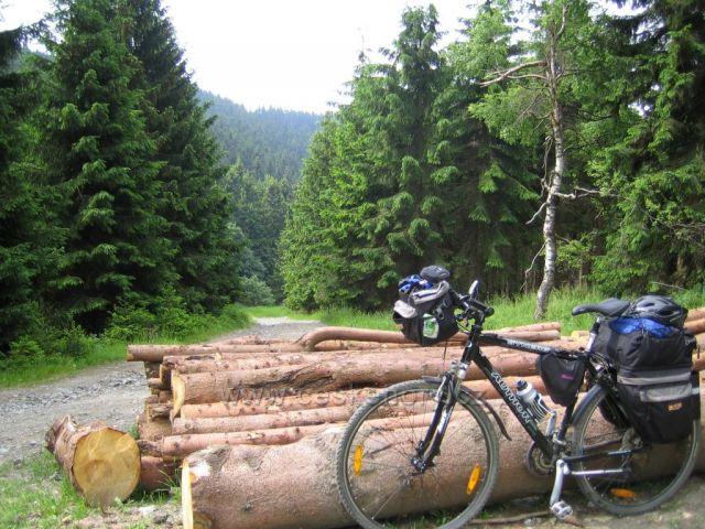 Na kole Brno -Horní Lipová poslední úsek