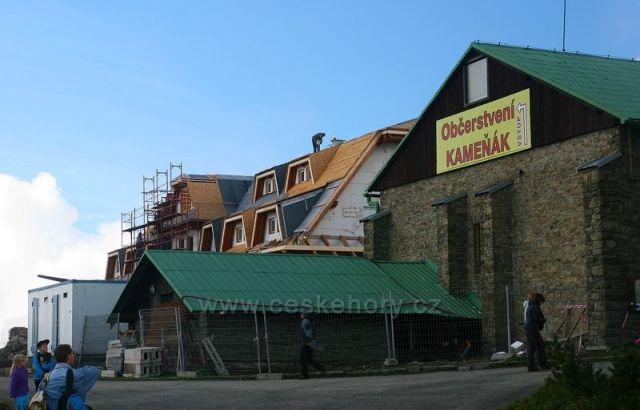 přestavby na Lysé