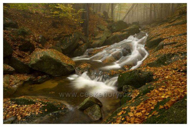 Podzimní čas melancholický na Hájeném potoce