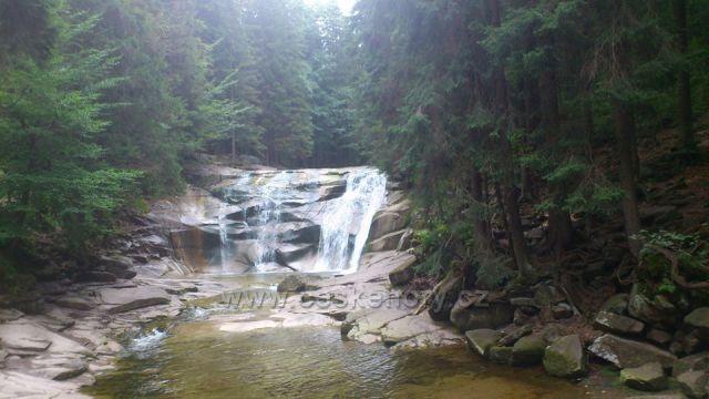 Krkonoše Harrachov-Mumlavské vodopády
