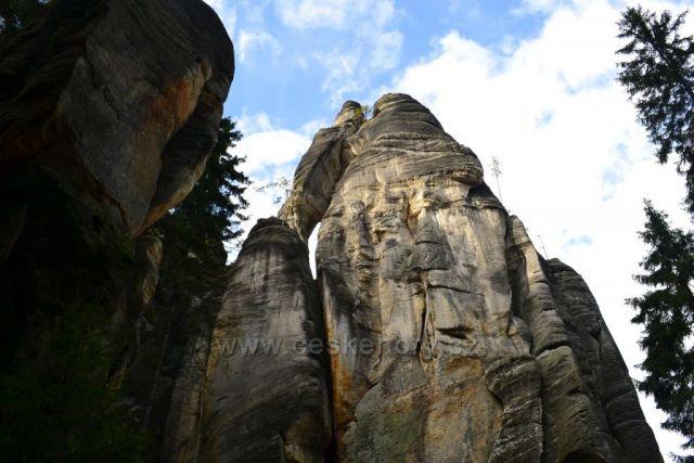 Starosta a starostová v Adršpašských skalách