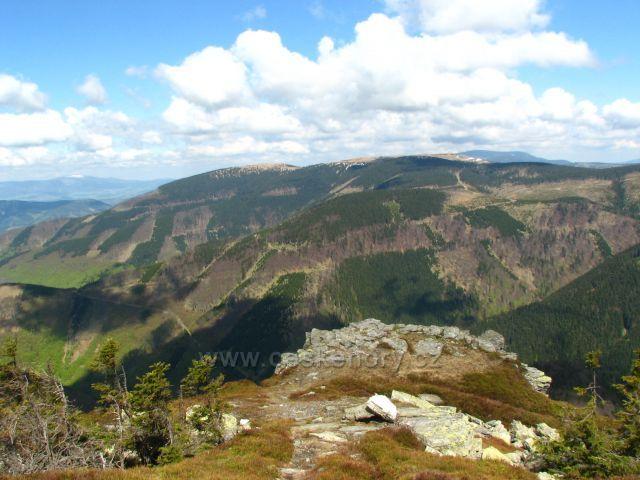 Dlouhé stráně z Břidličné hory