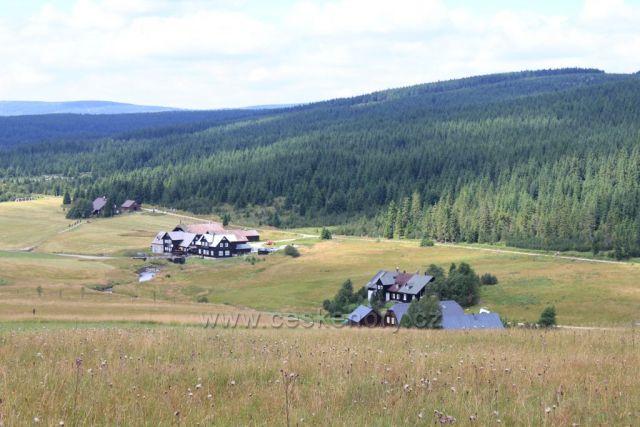 Údolí Jizerky foceno: červenec 2013
