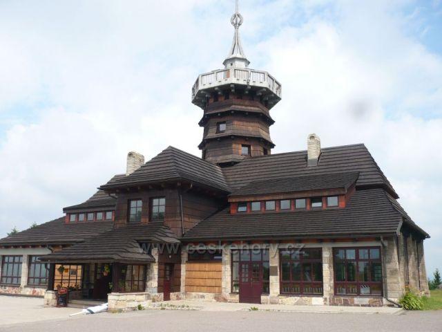 Jiráskova chata foceno: červenec 2013