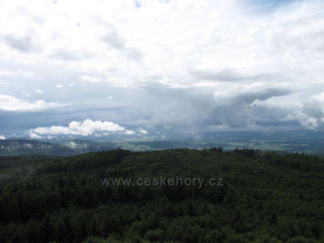 Výhled z Čerchova