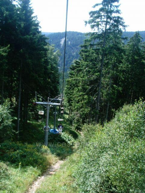 Krušné Hory lanovka naKlínovec