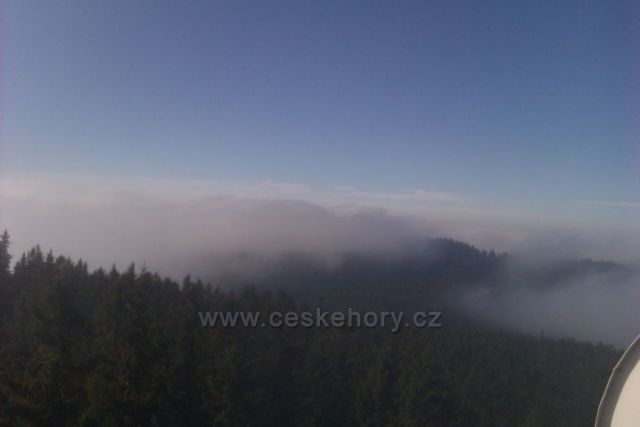 Kraví hora nad mraky