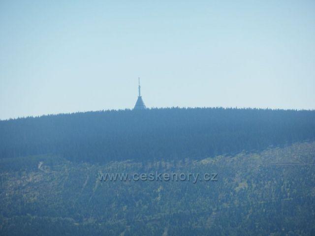 Černá hora z rozhledny na Hnědém vrchu