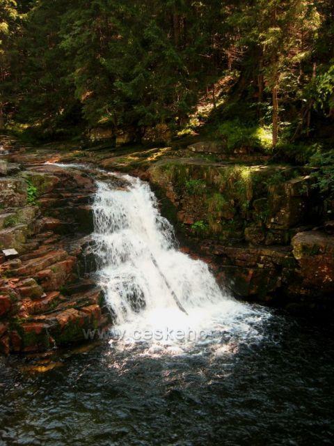 Vodopády na Labi u Špindlu