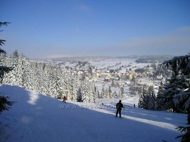 skiareál Velflink v Perninku