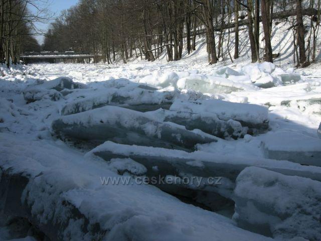 ledy na Úpě