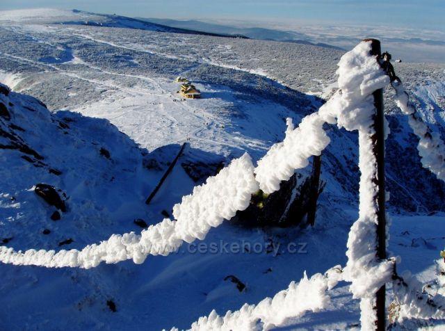 Pohled ze Sněžky