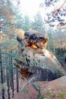 Skalní útvar v Boreckých skalách