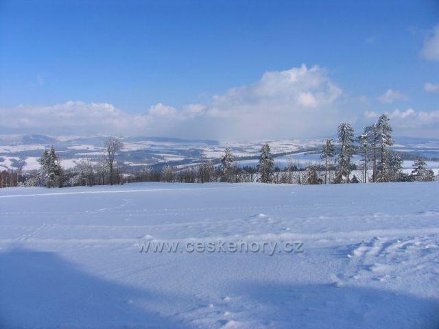 Zima v Českých Petrovicích