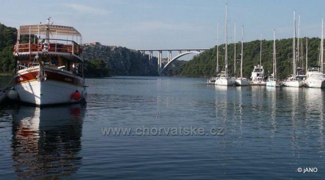 Diaľničný most Krka-zo Skradinu