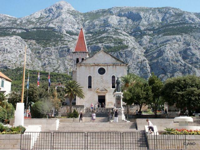 Makarská - kostolík sv. Marka
