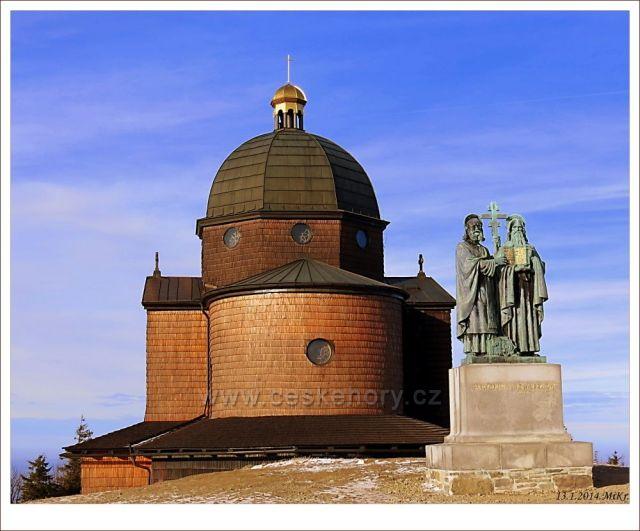 Kaple a sousoší Cyrila a Metoděje
