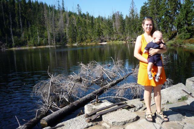 Prášilské jezero a mé poklady