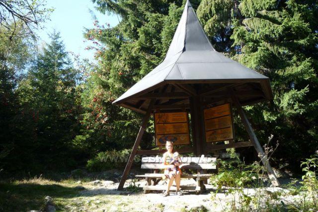 Odpočinek u Prášilského jezera