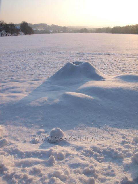 Zimní sopka