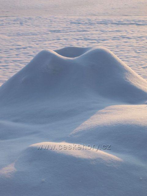 Sněhová sopka