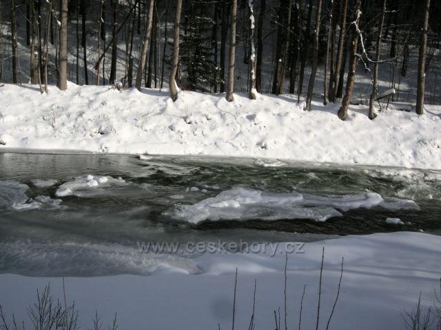 zamrzlá  Úpa