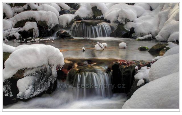 Beskydské vodopádky