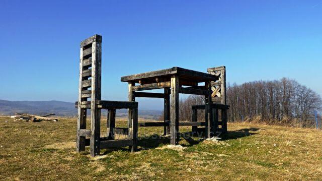 Rozhledna Židle -Lánský vrch
