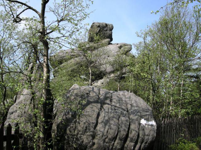 skalní útvar
