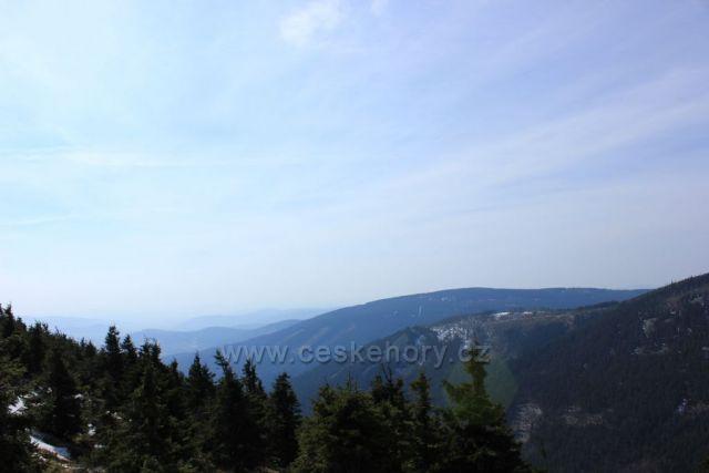 Výhled z Vřesové studánky